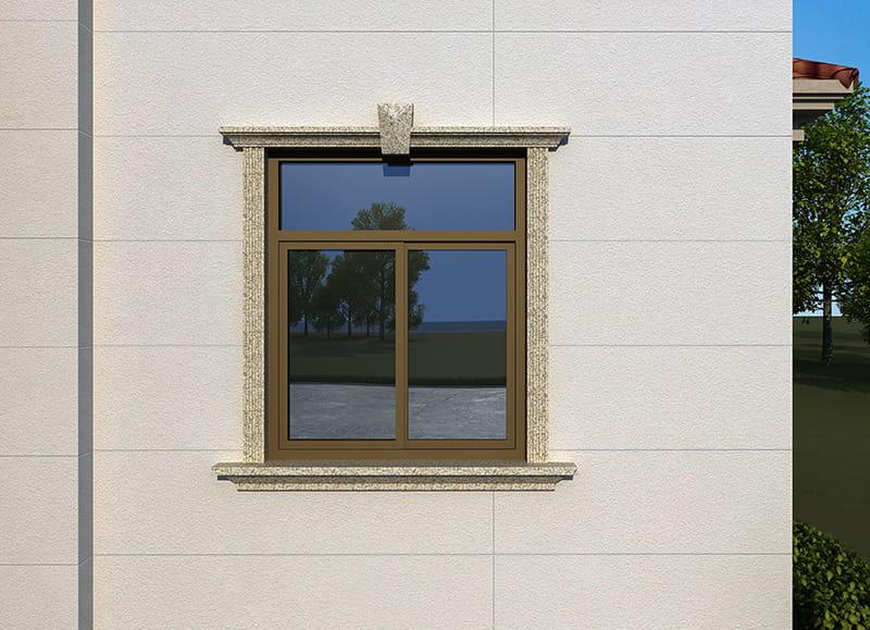 铝合金门窗线条安装施工工艺