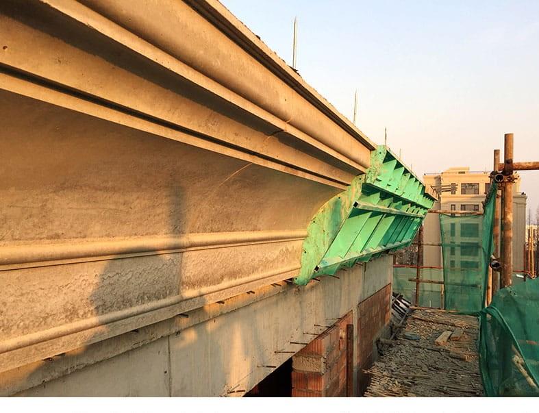 浇筑式钢模应用