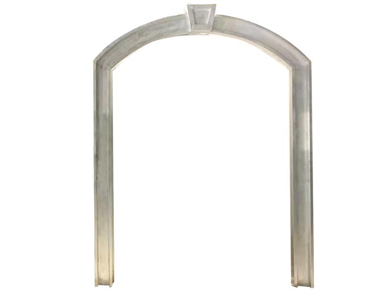 弧形金属窗套