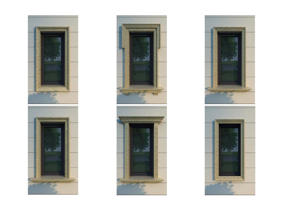 翼合金标准窗套